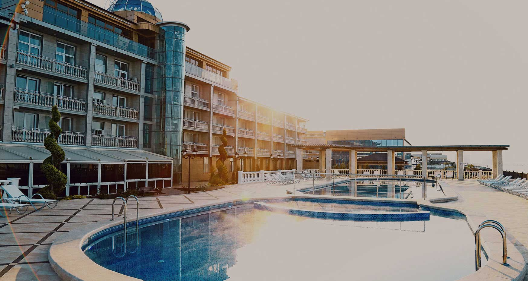 Отель Ribera Resort & SPA Евпатория, официальный сайт