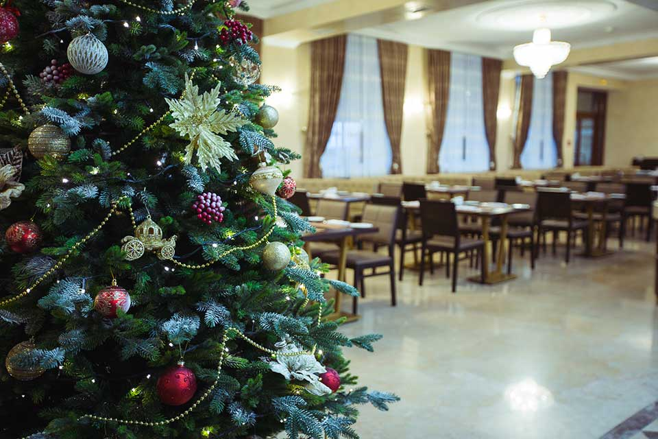 Новый год 2019 в Евпатории в новогодних залах отеля Ribera Resort & SPA